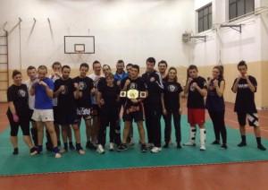 17-nel 2014 nasce  Full Contact Lumezzanese Team Carcina, condotto da Pelizzari Ivan