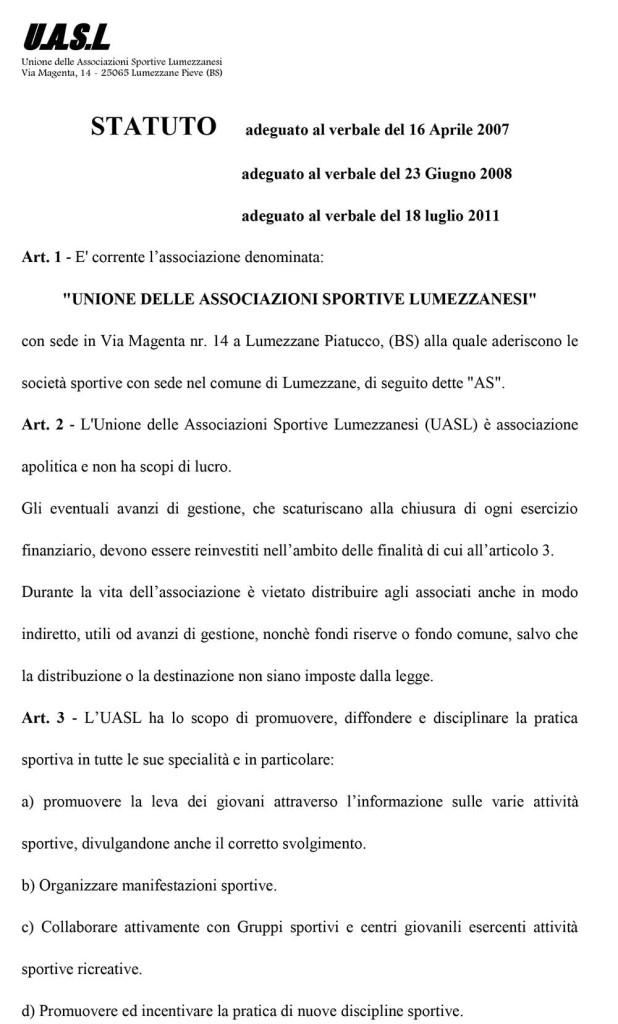 Nuovo statuto luglio 2011-1